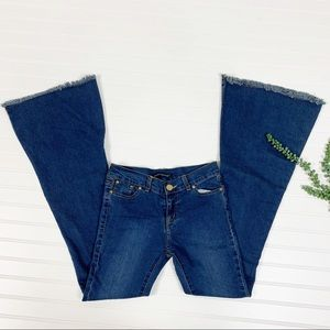 Brandy Melville Valeria Flare Jeans Size small